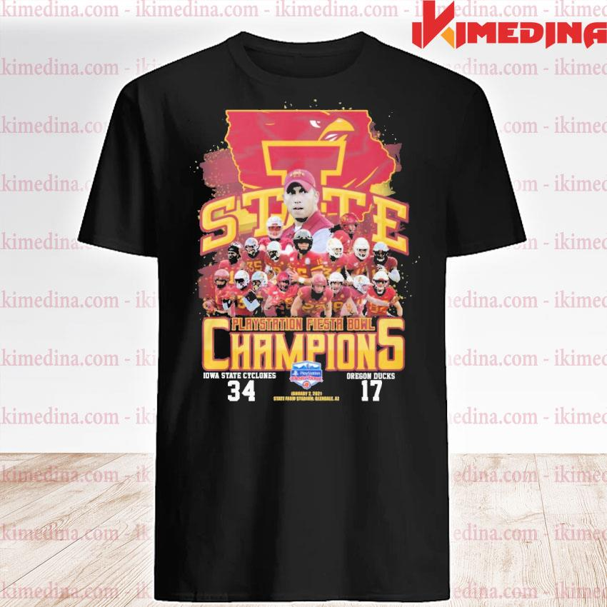 Official state playstation fiesta bowl champions shirt
