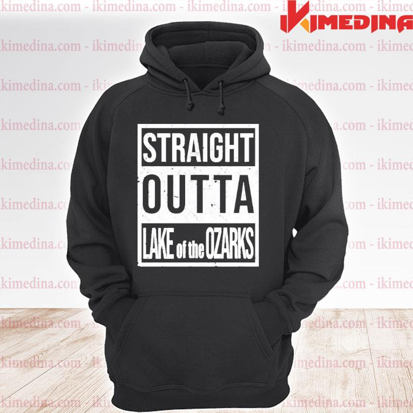 Official straight outta lake of the ozarks s premium hoodie