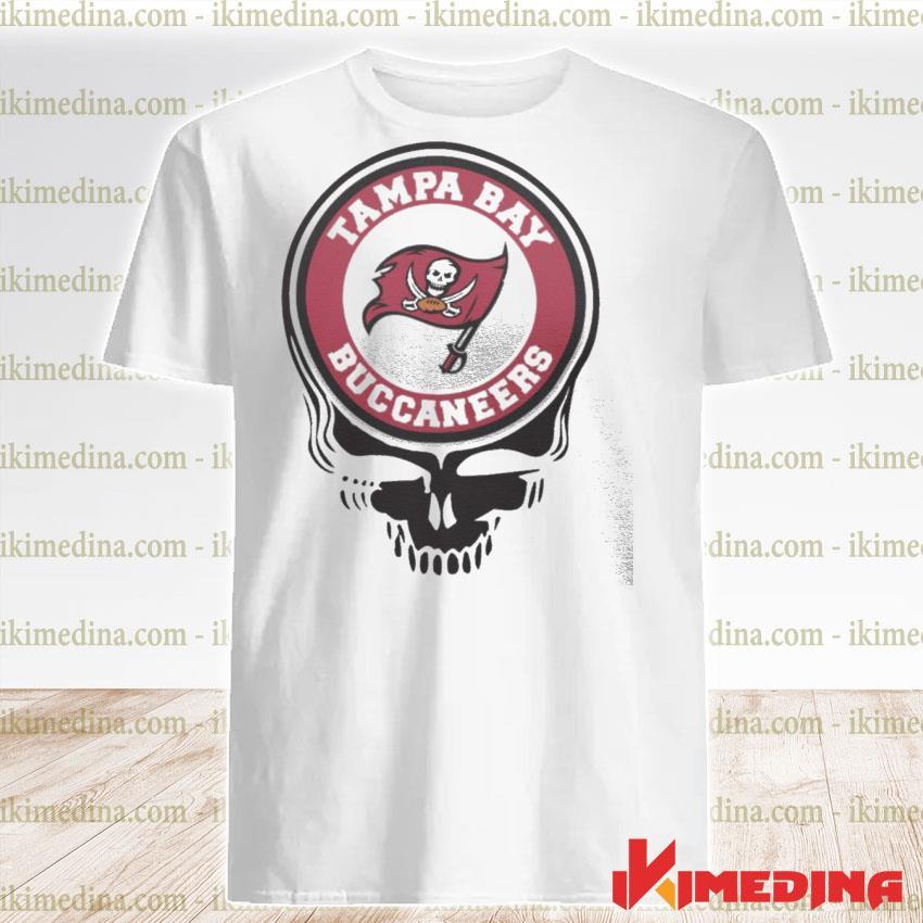 Official tampa bay buccaneers football skull shirt