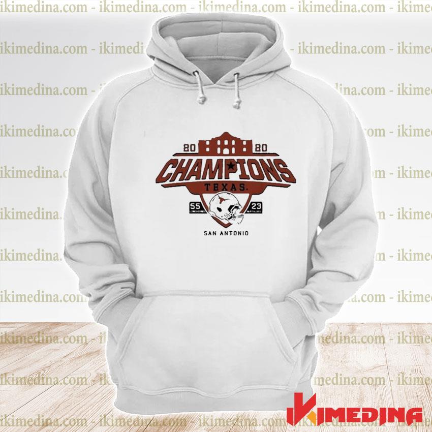 Official texas longhorns alamo bowl champions 2021 s premium hoodie