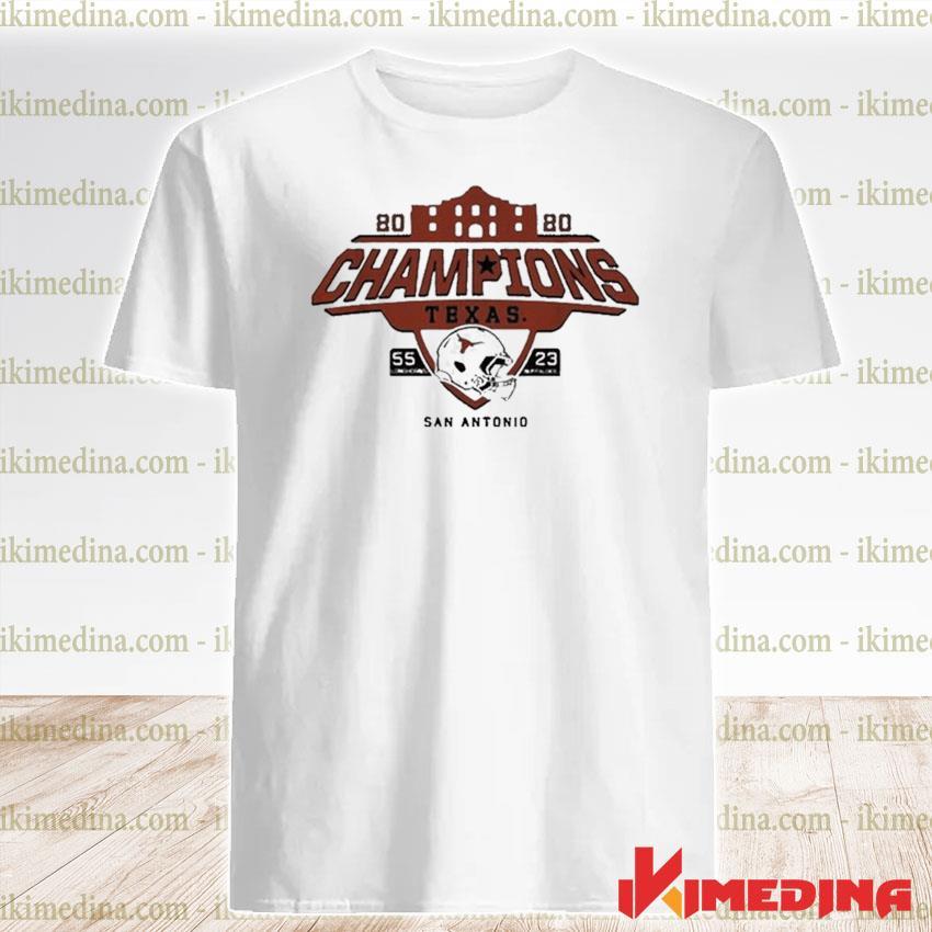 Official texas longhorns alamo bowl champions 2021 shirt
