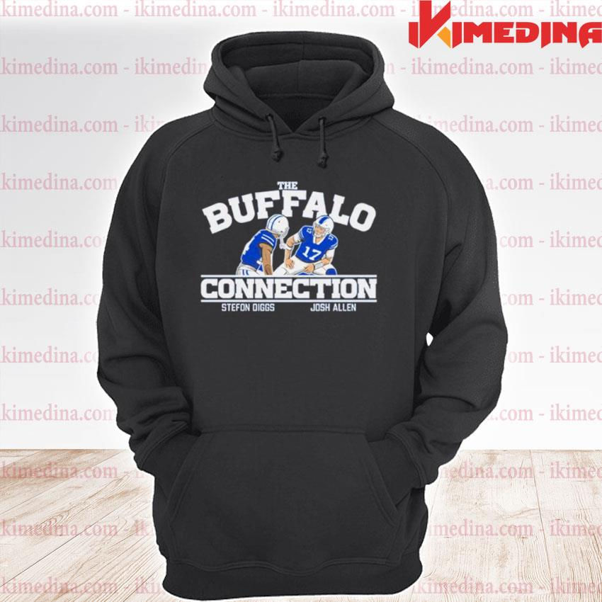 Official the buffalo connection stefon diggs and josh allen s premium hoodie