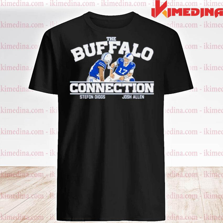 Official the buffalo connection stefon diggs and josh allen shirt
