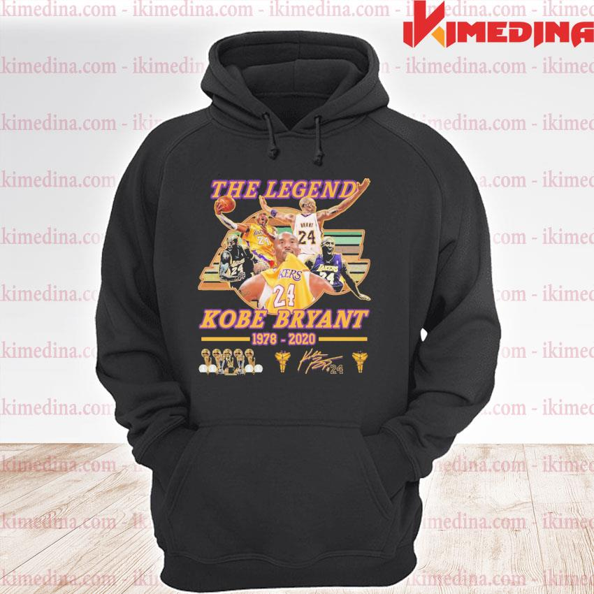 Official the legend kobe bryant 1978 2020 s premium hoodie