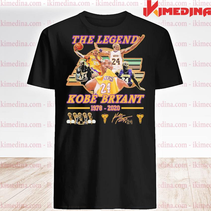 Official the legend kobe bryant 1978 2020 shirt