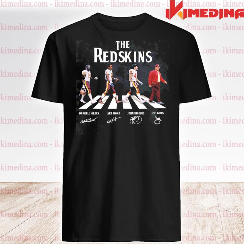 Official the redskins darrell green art monk john riggins joe gibbs shirt