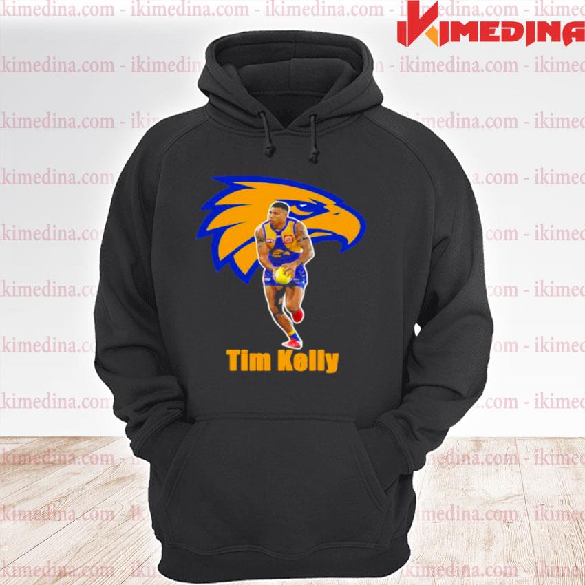 Official tim kelly player of team philadelphia eagles football s premium hoodie