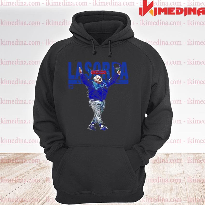 Official tommy lasorda los angeles dodgers s premium hoodie