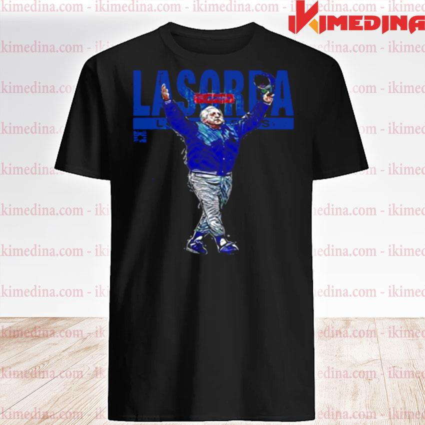 Official tommy lasorda los angeles dodgers shirt