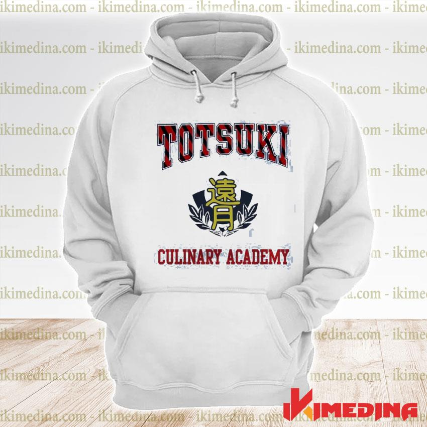 Official totsuki culinary academy s premium hoodie
