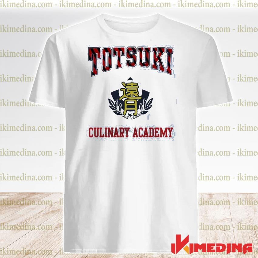 Official totsuki culinary academy shirt