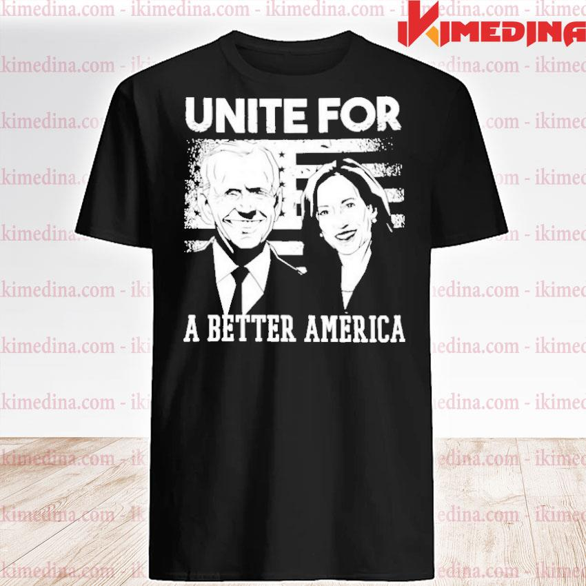Official unite for a better american flag shirt
