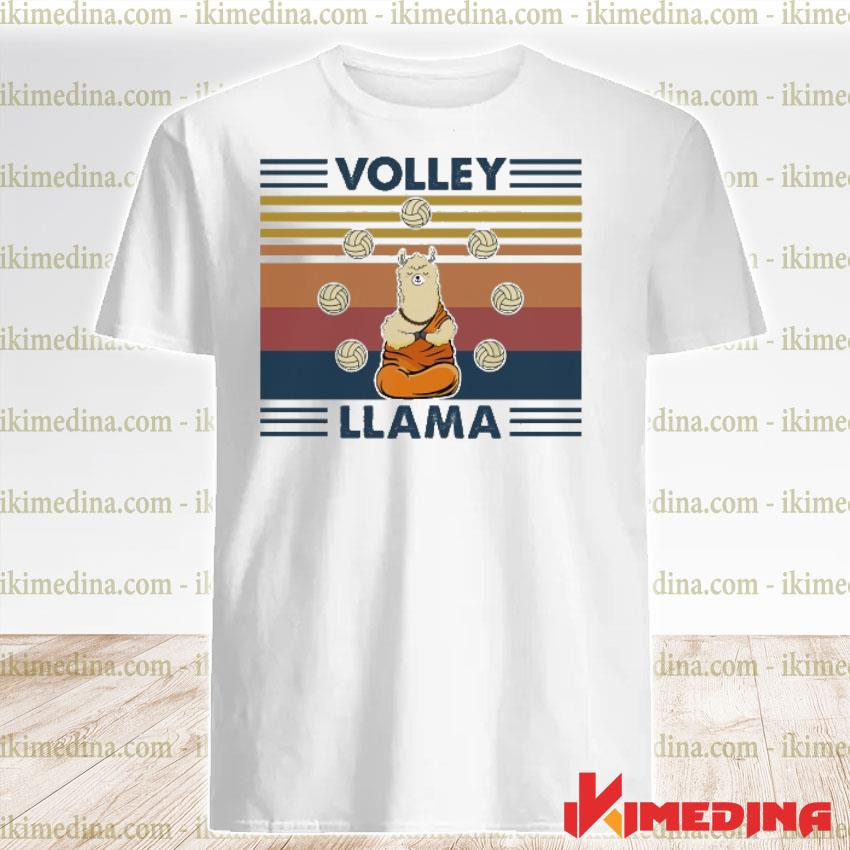Official volley llama vintage shirt