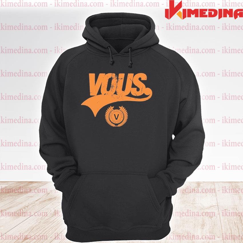 Official vous church merch vous team s premium hoodie