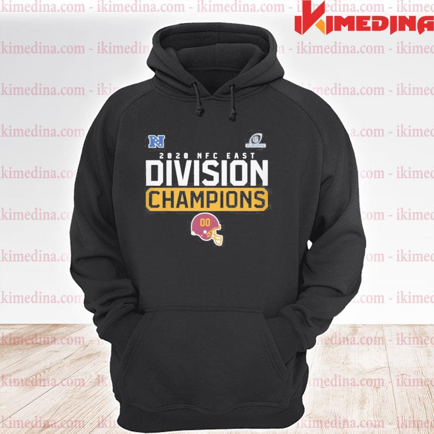 Official washington football team 2020 nfc east division champions s premium hoodie