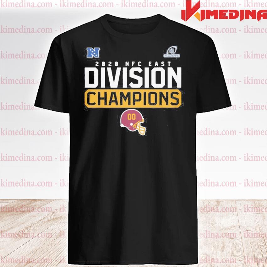 Official washington football team 2020 nfc east division champions shirt