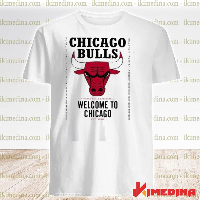 Official welcome to chicago chicago bulls 2021 tee shirt