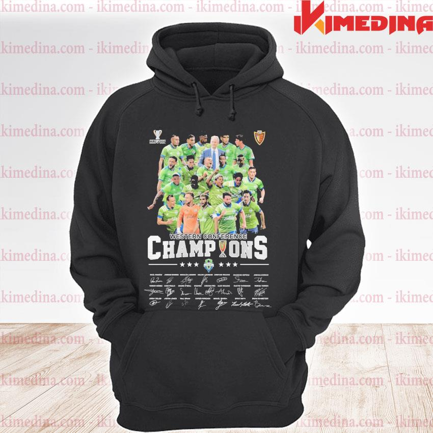 Official western conference champions players signature 2021 s premium hoodie