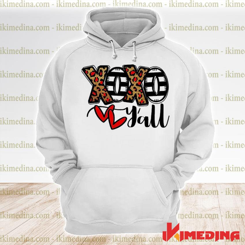 Official xoxo y'all s premium hoodie