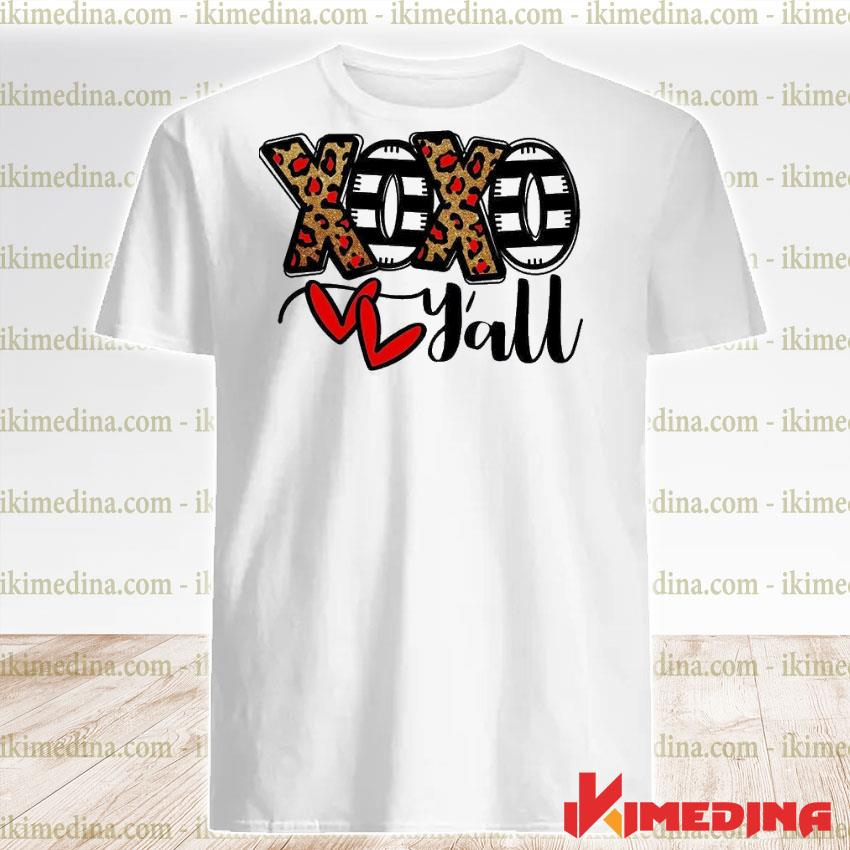 Official xoxo y'all shirt