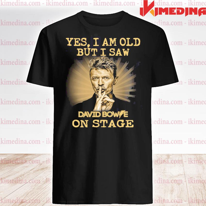 Official yes i am old but i saw david bowie on stage shirt