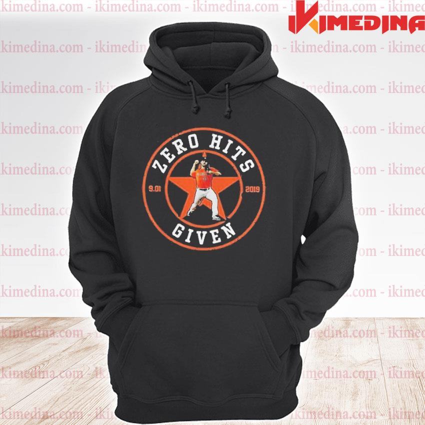 Official zero hits given 9.01 premium hoodie